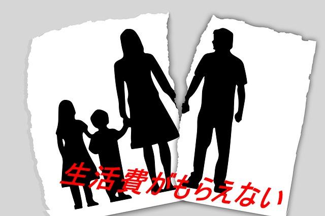 三人の子供がいるのに生活費がもらえない…夫と離婚したほうがいい?